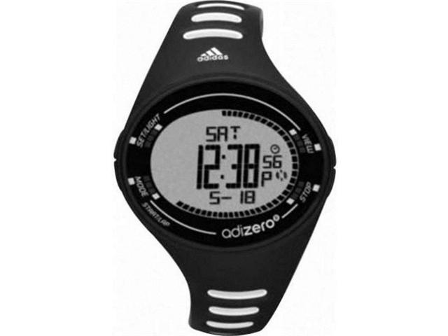 Men's Black Adidas Adizero Digital Sports Watch ADP3508