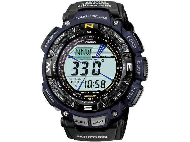 Casio Pathfinder Triple Sensor Mens Digital Watch PAG240B-2