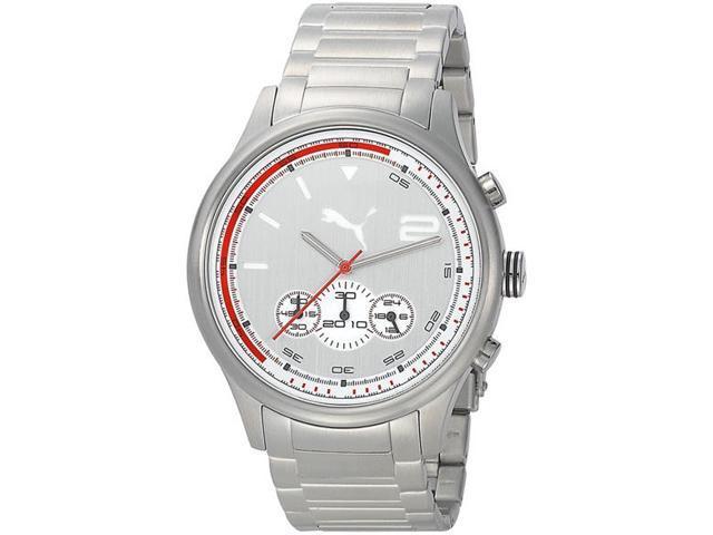 Men's Puma Wheel Chronograph Sport Watch PU102741004