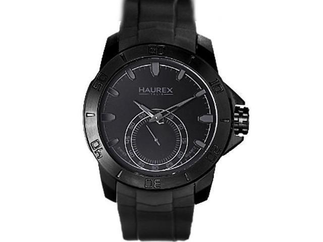 Men's Haurex Acros Black Sports Watch 3N503UNN