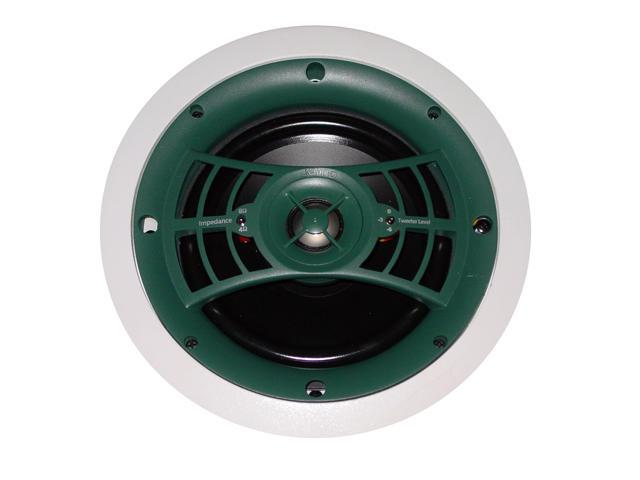 Jamo 8.5A2 60W 2-Way In-Ceiling Speakers (Pair), White Paintable