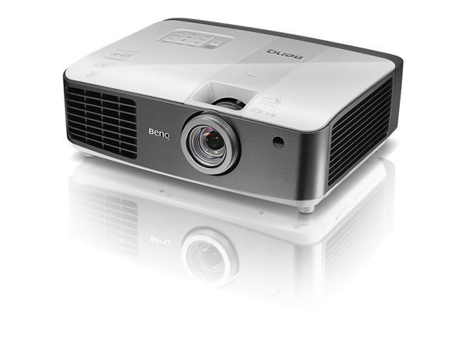 BenQ W1500 1080P HD Wireless HD DLP Home Theater Projector (2013 Model)