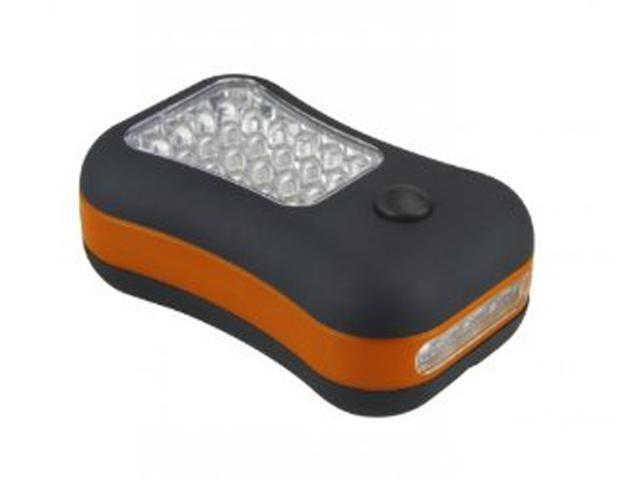 28 LED Compact Bright Worklight & Utility light with Magnetic and Hook - Orange