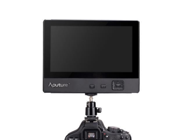 Aputure V-Sreen VS-1 7'' LCD Video Field Monitor,HDMI YPbPr & AV Input, Sunshade