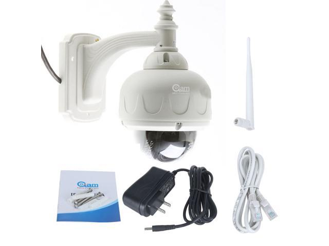Wireless HD IP Camera Webcam,Waterproof IR Night Vision,Support remote surveillance via iPhone/iPad/3G Phone/Android Smartphone, etc.