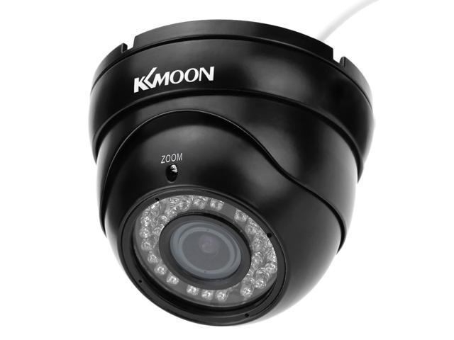 KKMOON TP-E225iRE 1/3 Sony cmos 1200TVL Color 36IR 2.8~12mm Varifocal Zoom Dome Surveillance Security Camera