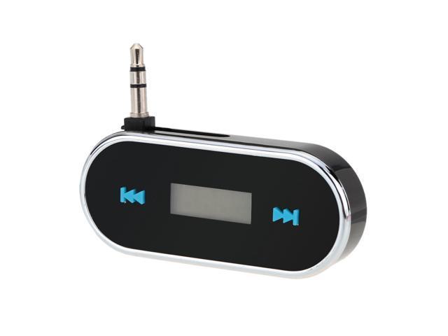 Portable Mini Wireless 3.5mm Car Audio Radio LED Dispaly FM Transmitter Modulator Adapter for iPhone iPad iPod Samsung