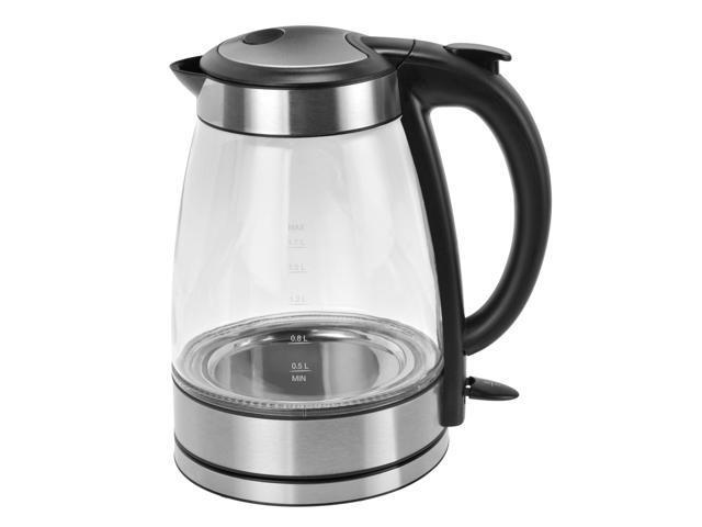 Kalorik JK 39380 BK Glass Water kettle Black and Stainless