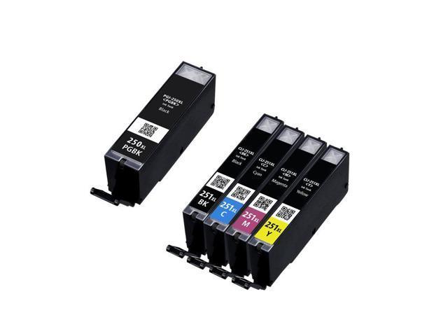 5 Canon PIXMA MX922 Ink Cartridges Combo Pack (compatible)