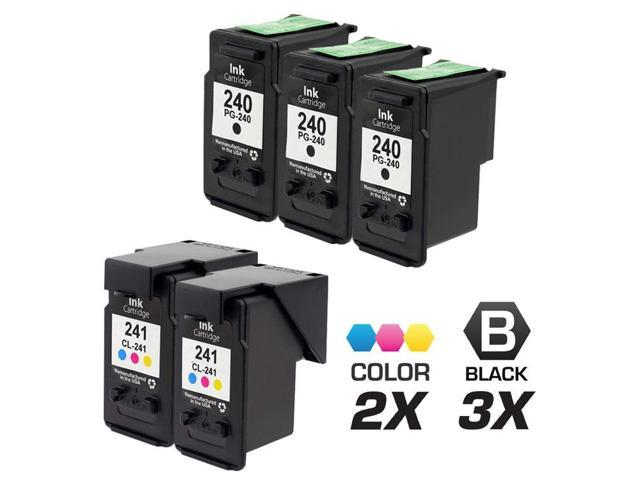 5 Canon PIXMA MG2120 Ink Cartridges Combo Pack (compatible)