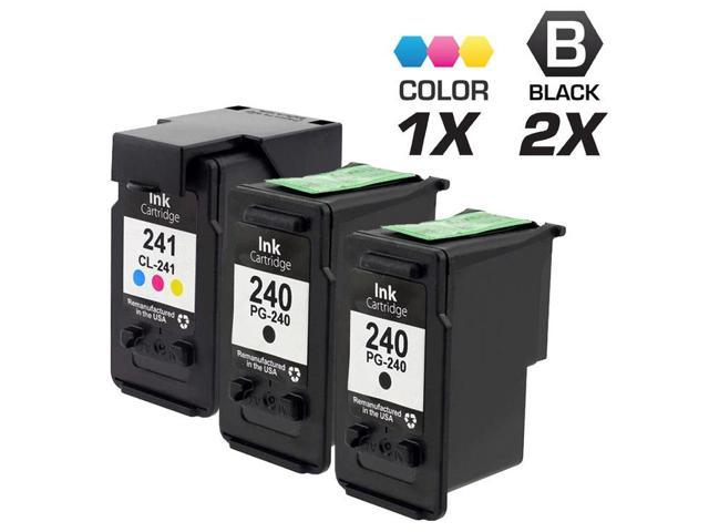 3 Canon PIXMA MG2220 Ink Cartridges Combo Pack (compatible)