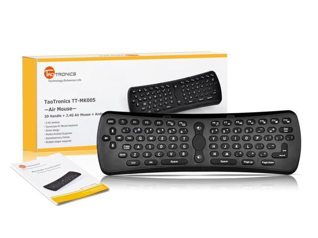 *Holiday Promotion* TaoTronics TT-MK005 Upgraded Version 2.4G Mini Wireless Fly Mouse Keyboard for Google Android TV / HTPC / PC / Windows 7 / ...