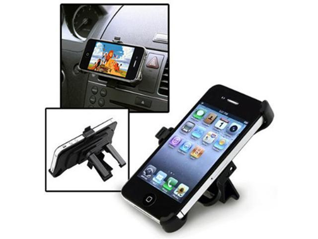 Black Gen Car Air Vent Clip Mount Phone Holder For iPhone 4 4S 4G 4th
