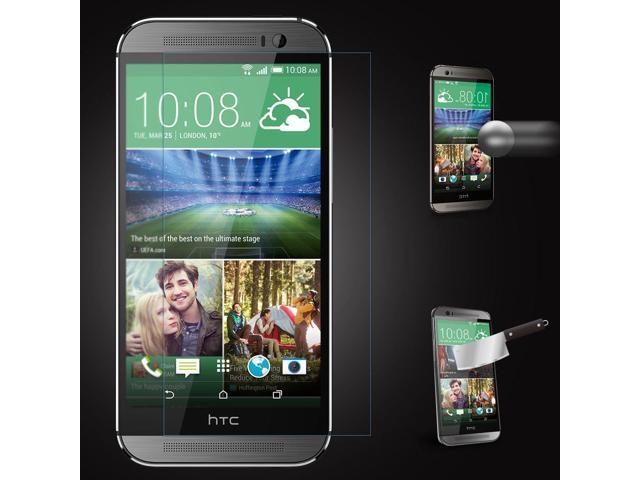 2.5D Tempered Glass Anti-Burst Screen Protective Film for HTC ONE M8