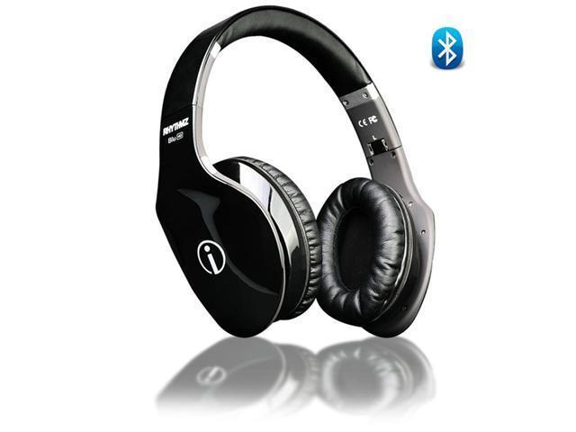 Rhythmz BLU HD Touch Gesture Technolgy Headphones (Black)