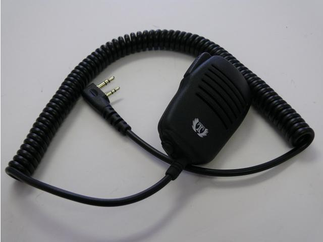Titan-Water Resistant Speaker Mic for 2-pin H777 UV-5R KENWOOD Radio US Local Delivery