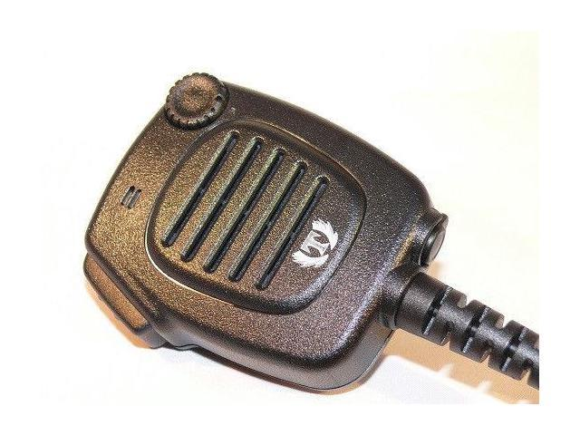 Water-resistant (IP54) Speaker Mic for Yaesu VX-6R VX-7R VX-127 VX-177 MH-57