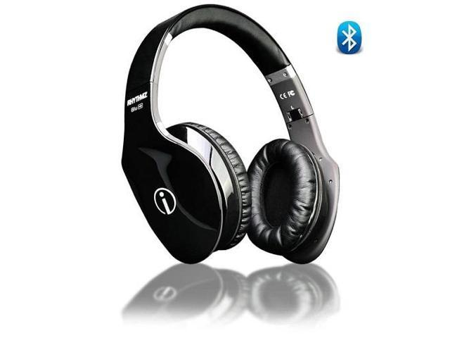 Wireless Bluetooth Headphones / Headset with Swipe Control Mic