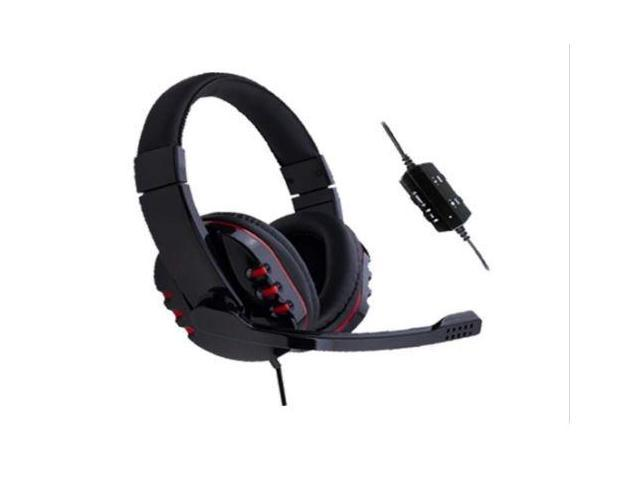 Headset with Mic for Game Player PS4 PS3 PC XBOX 360 Gaming Chat Communicator