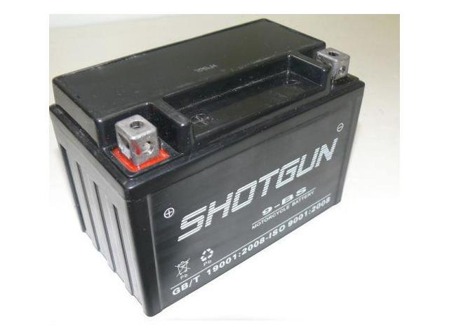 SHOTGUN Replacement for Yuasa/Exide YTX9-BS Battery and PTX9-BS