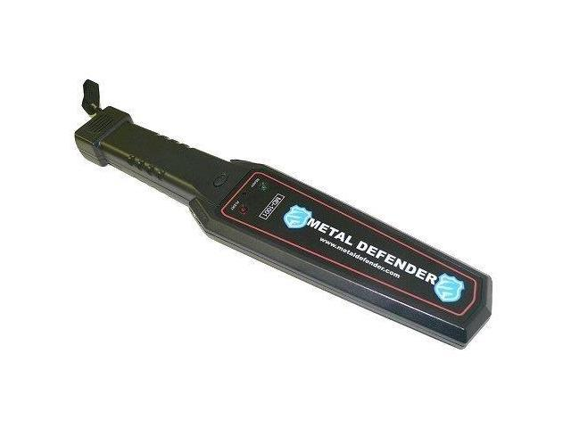 Brand New Portable Hand Held Audio Alert Metal Detector with LED indicator