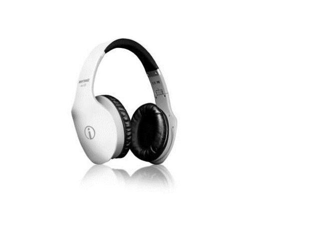Rhythmz Limited Edition Air Hd Over-ear Super Sound Headphones in White Foldable