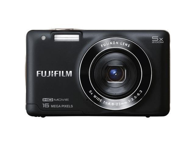FUJIFILM FinePix JX680 16291900 Black 16 MP 5X Optical Zoom 26mm Wide Angle Digital Camera