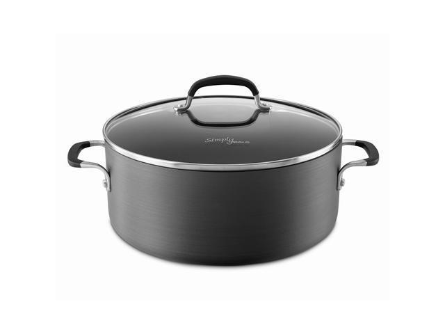 Simply Calphalon 7-Quart Nonstick Dutch Oven with Cover