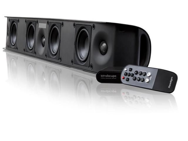 Paradigm Soundscape Full Powered Soundbar with apt-X Bluetooth (Black)