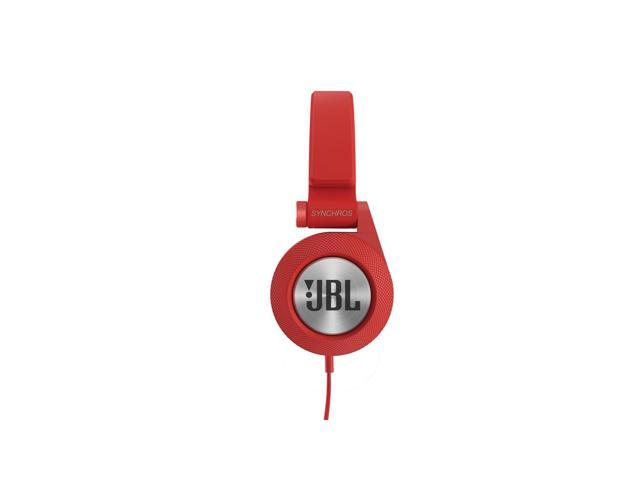 JBL E30 Synchros On-Ear Headphones With Mic (Red)
