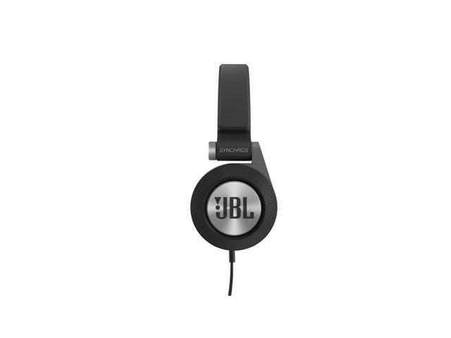 JBL E30 Synchros On-Ear Headphones With Mic (Black)