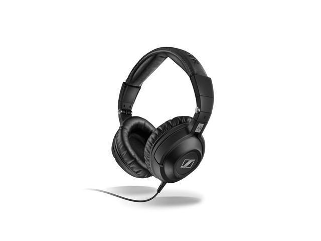 PX360 Around the Ear Collapsible Wired Headphones (Black)