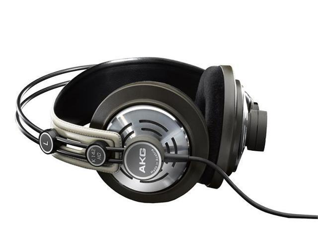 AKG by Harman K142HD Studio High-Definition Semi-Open Headphones (Mocca/Sand)