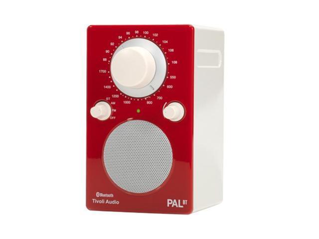 Pal BT Bluetooth Portable Radio (Glossy Red)