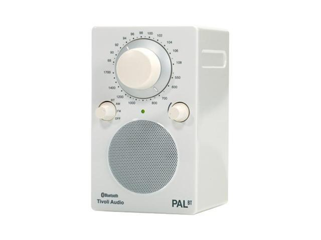 Pal BT Bluetooth Portable Radio (Glossy White)