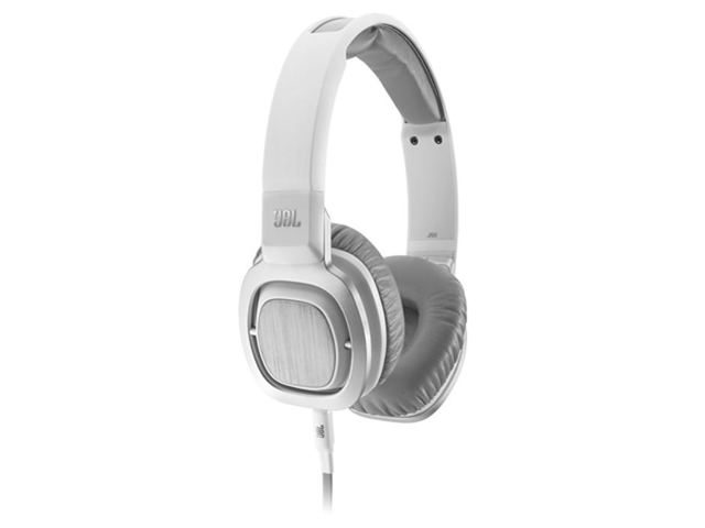 JBL J55 High-Perfomance On-Ear Headphones (White)