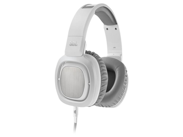 JBL J88i Premium Over-Ear Headphones with Microphone (White)