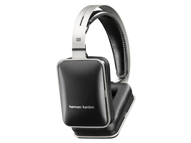 Harman Kardon NC Noise-Cancelling Headphones with Mic (Black)