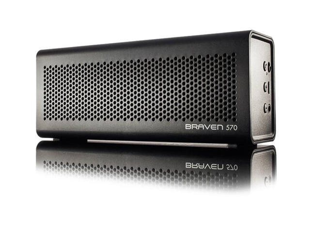 Braven BZ570BBP Black Portable Wireless Bluetooth Speaker