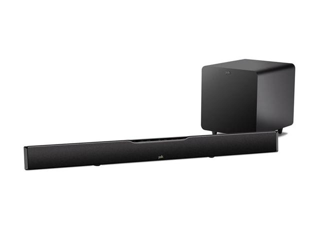 Polk Audio SURBAR9000 IHT Ultra High Performance SurroundBar with Wireless Subwoofer-Black