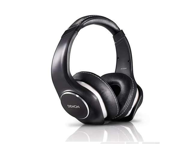 Denon AH-D340 Music Maniac On-Ear Headphones (Black)