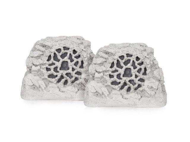 SpeakerCraft Ruckus 6 One Rock Landscape Speakers - Pair (Gray/Granite)