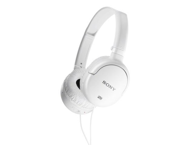 Sony MDR-NC8/WHI Noise Canceling On-Ear Headphones (White)
