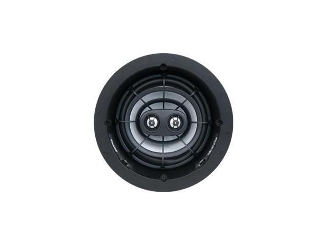 SpeakerCraft Profile AIM7 DT Three In-Ceiling Speaker with Aimable Woofer - Each (Black)