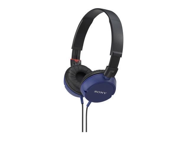 Sony MDR-ZX100/BLU ZX Series Stereo On-Ear Headphones (Blue)
