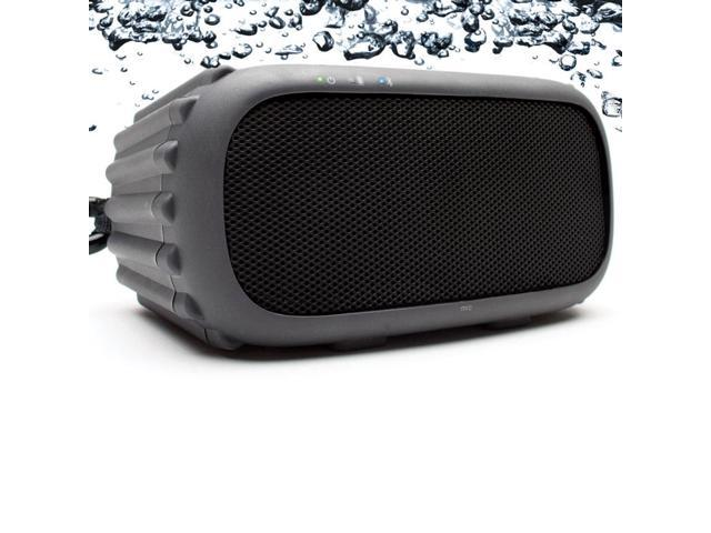 GRACE EGRX601BLK ECOROX Portable Mountable Waterproof Bluetooth Speaker