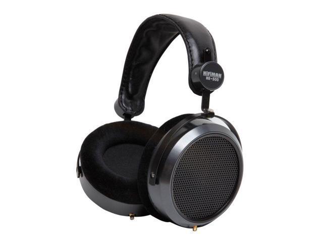 HifiMan Electronics HE-500 Planar Magnetic Over-Ear Headphones (Black)