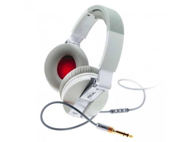 Focal Spirit One Over-Ear Headphones with Apple Control and Mic (White)