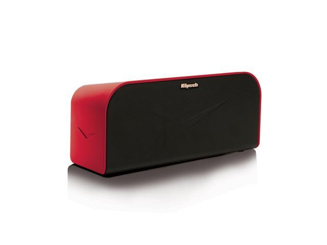 Klipsch KMC 1 Music Center Portable Bluetooth Speaker (Red)