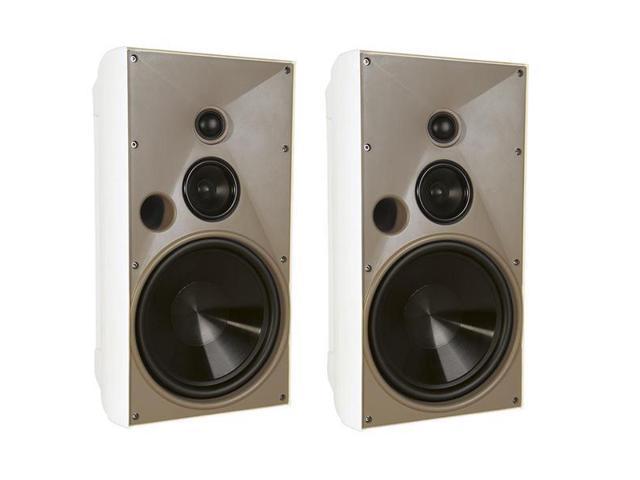 Proficient Audio AW830 3-Way Indoor/Outdoor Speaker - Pair (White)